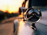 Side Mirror on 1950s Car  Santiago De Cuba  Cuba