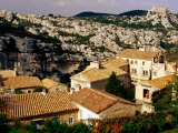 Hilltop Village in Les Alpilles  Les Baux De Provence  France