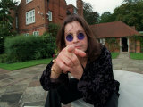 Ozzy Osbourne  Lead Singer with Rock Band Black Sabbath  October 1998