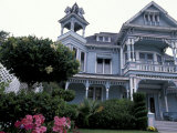 Edwards Victorian Mansion  Redlands  California  USA