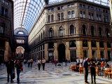 Galleria Umberto I  Naples  Italy