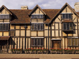 Shakespeare's Birthplace  in Henley Street  Stratford-Upon-Avon  United Kingdom