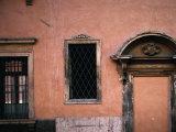 Baroque Facade with Stonework Verona  Veneto  Italy