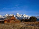 Shanes Barn  Grand Teton National Park  WY