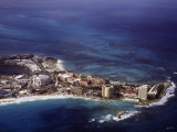 Aerial View of Cancun  Mexico