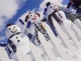 Family of Snow People  Breckenridge  CO