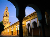 Torre Del Alminar  the Mezquita  Cordoba  Spain