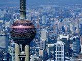 Oriental Pearl Building  Shanghai  China