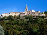 Medieval Hilltop Town  Buzet  Croatia