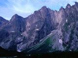 Troll Wall Rock-Face  Romsdalen Alps  Norway