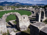 Roman Amphitheatre Ruin  Salona  Croatia