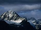 Peak of Piz Linard  Swiss National Park  Zernez  Switzerland