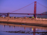 Tidal Lagoon at Crissy Field  San Francisco  California  USA
