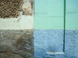 Colourful Walls  Tozeur  Tunisia
