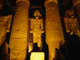 Temple of Luxor by Architect Amenophis III  Luxor  Egypt