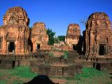 Khmer Ruins at Prasat Meuang Singh Historical Park (Lion City)  Thailand