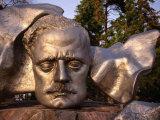 Sibelius Memorial Mask  Helsinki  Finland