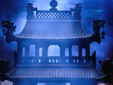 Shrine Clouded in Incense Smoke  Baiyun Guan (White Cloud Temple) Bejing  China