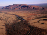 Aerial View of Mt Augustus  Australia