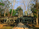 West Entrance of Ta Prohm Temple  Angkor  Siem Reap  Cambodia