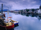 Fishing Boats in Village Harbour  Ullapool  Scotland