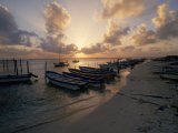 Fishing Boats at Sunset  Mexico