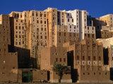 Exterior of Apartment Buildings  Yemen