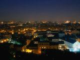 City at Dusk from Passegiata Del Gianicolo  Rome  Italy