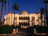 The Former Palace of the Late King Idris Now Known as the People's Palace  Tripoli  Libya