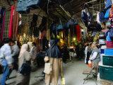 Shoppers in Central Bazaar Area Shiraz  Fars  Iran