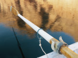A Close View of a Boats Oar