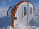 A View of the Womens Outhouse at Patriot Hills Base Camp