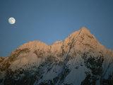 Moonrise over Charakusa Valley  Karakoram  Pakistan