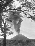 View of Ngauruhoe Volcano  Which Erupted in December 1934
