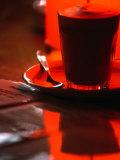 Caffe Latte from Caffe Cartile in Melbourne's Block Arcade  Melbourne  Victoria  Australia