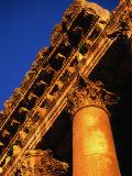 Detail of Columns and Entablature  Baalbek  Lebanon