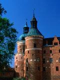 Gripsholm Castle on Malaren Lake  Sodermanland  Sweden