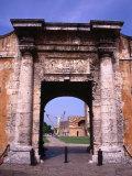 The Gate to the Fort Fortaleza De Ozama  Santo Domingo  Dominican Republic