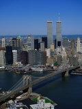 Brooklyn Bridge and East River  NYC