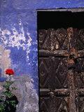 Dilapidated Facade of Convent Santa Catalina  Arequipa  Arequipa  Peru