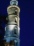 Calton Hill Monument  Edinburgh  Scotland