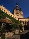 Turnul Cu Ceas Clocktower (1360)  Sighisoara  Mures  Romania