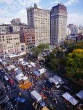 Farmers' Market on Union Square  New York City  New York  USA