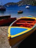 Boat Ashore in Port Elizabeth  Admiralty Bay  St Vincent & the Grenadines