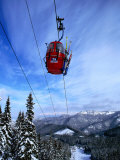 Red Cable-Car on Otupune Run  Jasna Resort Jasna  Slovakia