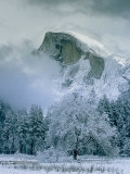 A Winter View of Half Dome
