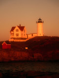 Museum and Portland Head Light House at Cape Elizabeth  Portland  Maine  Portland  USA