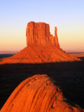 The East Mitten Butte  Monument Valley Navajo Tribal Park  USA