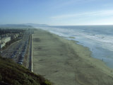 Ocean Beach from Sutro Heights Park  San Francisco