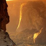 El Capitan at Sunset  Yosemite National Park  USA